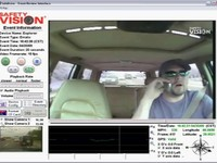 A fresh angle in onboard surveillance recording: Safety Vision's SafeDrive mini windshield DVR