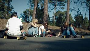 Longboard Girls Crew France - Cruising Lande