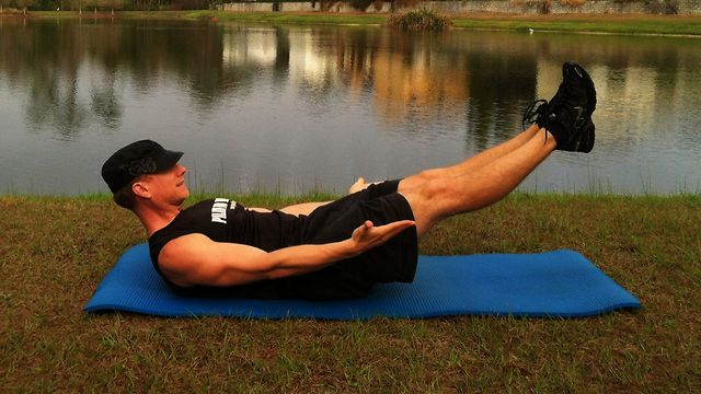 Pilates for Men Workout - short Men's Pilates Exercises ...