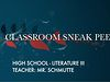 FPE Sneak Peek - High School - Literature III