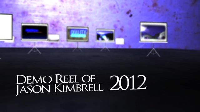 Demo Reel of Jason Kimbrell - 2012