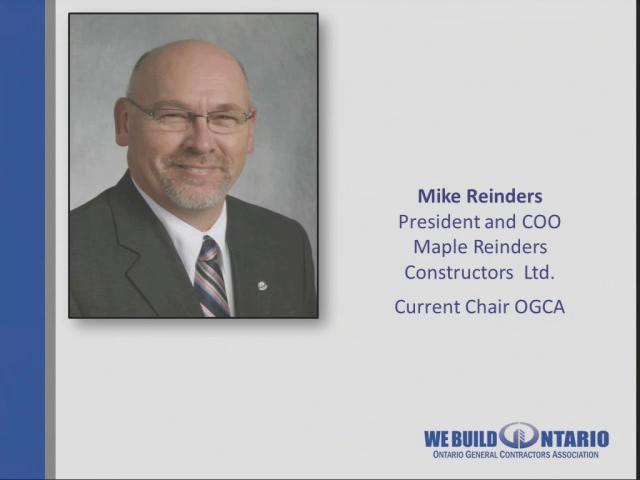 01 Mike Reinders - Welcome, Introduction & Overview