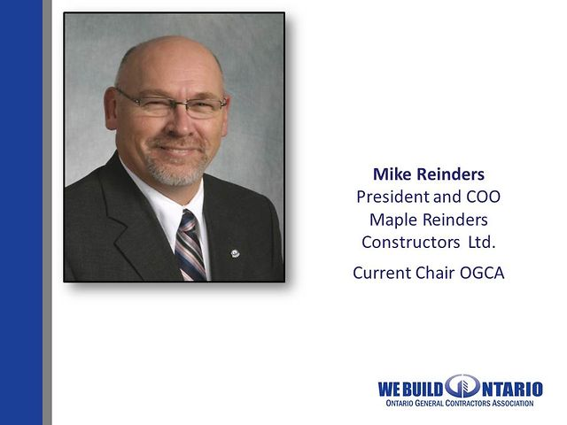 03 Mike Reinders - Introducing Certificate of Recognition