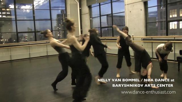 Less Than a Minute of Sunset Rehearsal with Nelly van Bommel