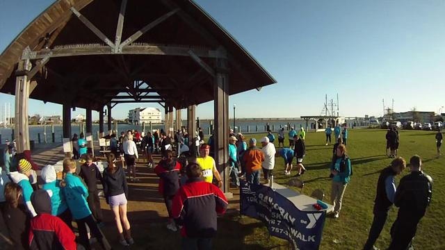 Bay-to-Bay 5k walk/10k run 2012 at Robert Reed Park