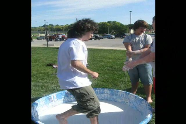 Walking on Water - Non Newtonian Fluids
