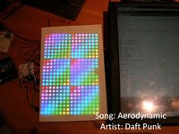 Spectrum Analyzer featuring Daft Punk