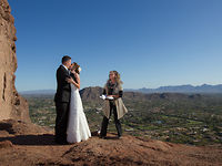 Dan and Krissy's Wedding on Camelback Mountain in Scottsdale, Arizona