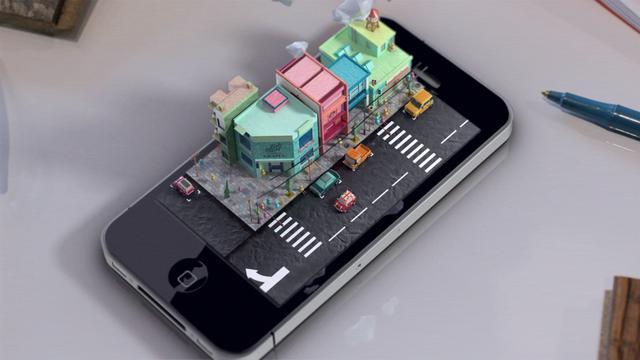 【畢業作品iphone- diorama】【凱水】