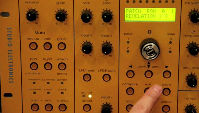 Omega 8 as a Drum Machine - Quick Behind the Scenes
