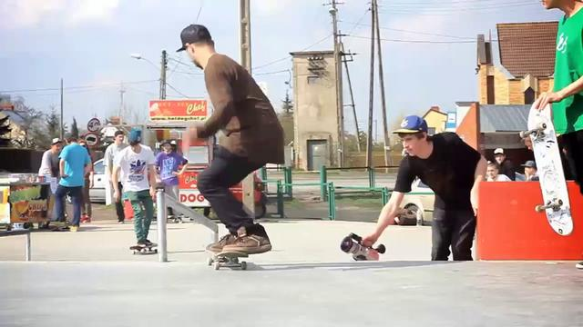 Kołbaskowo Jam - skatepark opening jam (14.04.2012)