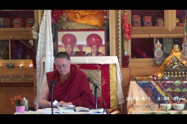 Khenmo Trinlay Chodron - Day 3, 1 of 2
