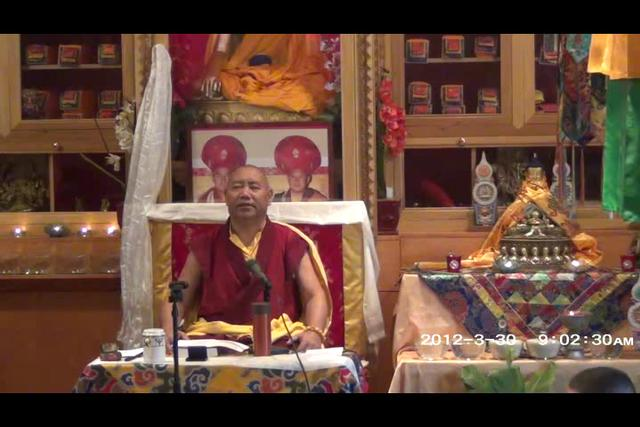 Khenchen Rinpoche - Day 1, 1 of 4asf