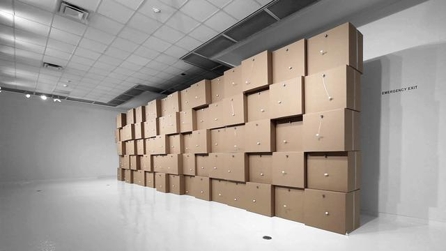 &quot;Zimoun: Sculpting Sound&quot; (2011) at the Ringling Museum of Art, Sarasota, FL