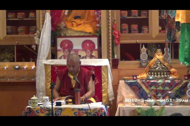 Khenchen Rinpoche - Day 1, 2 of 4asf