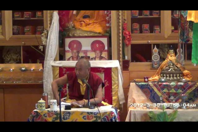 Khenchen Rinpoche - Day 1, 3 of 4asf