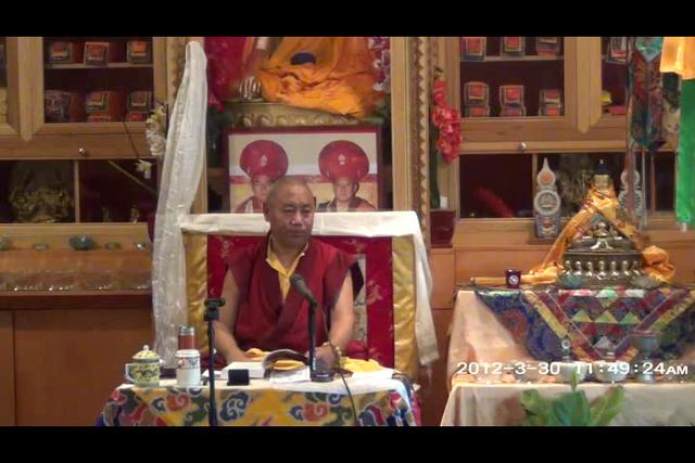 Khenchen Rinpoche - Day 1, 4 of 4asf