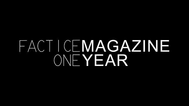 Happy Birthday Factice Magazine