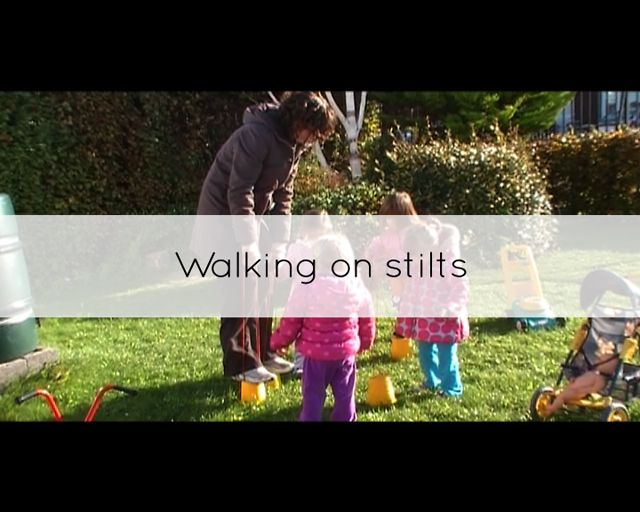 Walking On Stilts