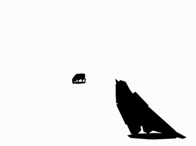 【東施效顰 -Le Corbeau voulant imiter l'Aigle】【Yao】