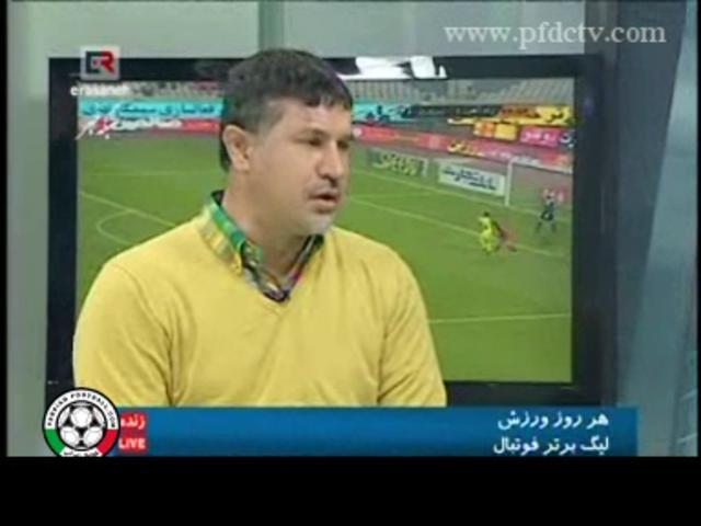 Ali Daei – Interview & Discussion after car accident