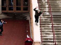 filmed by mykel fatali.  additional filming gregs freeman and schlosser, fish guys by cody lampman, justin barr, jeremy spira, ian walker      &quot;Geoff Phillip is quite the heady fellow, and that's saying something in our world of stoney-bladers. Not only is the man an expert on kush, he's also a master on the blades, with technical precision and a trick vocabulary that few, if any, can match. Tru-spins, negatives, switch spins, opposite shoulders, gaps, grinds, blunts, bongs, knifers, joints, and bubblers, the man's got it all. But don't take my word for it, light up a fat jawnt, fire up this edit, and prepare for a medicinal blading journey with Geoff Phillip.&quot;                                                                                                                                                                                 -Cody Lampman