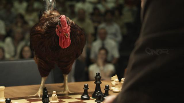 Making a chicken play chess with VFX
