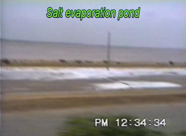 Salt Evaporation Ponds - Saurashtra Mail (Aug. 1995)