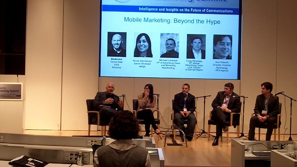 Mid Atlantic Marketing Summit: Mobile Marketing, Beyond The Hype
