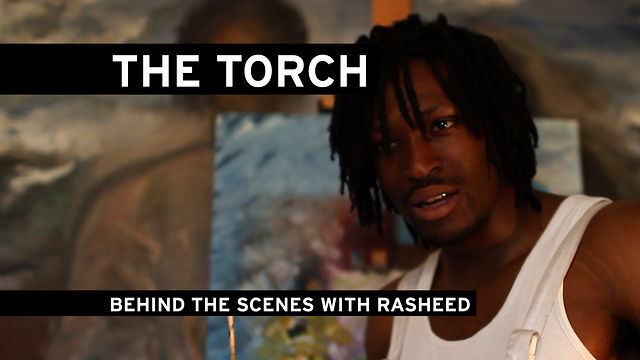 BEHIND THE SCENES WITH RASHEED