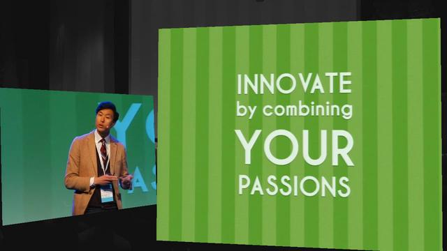 Innovate by combining your passions