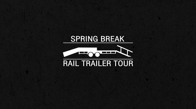 Spring Break Rail Trailer Tour