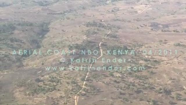 Aerial Video of Kenya