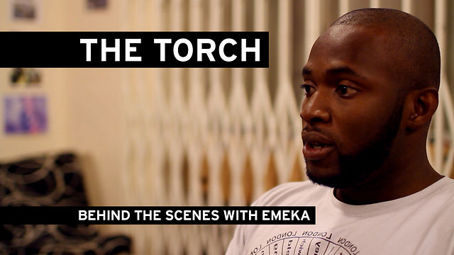 BEHIND THE SCENES WITH EMEKA