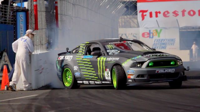 Round 1 Formula Drift Streets of Long Beach