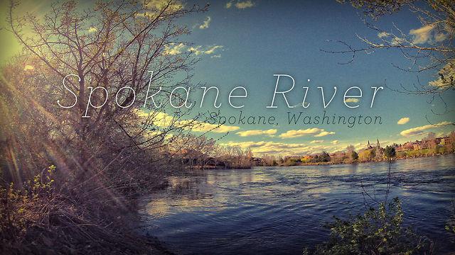 Timelapse around the Spokane River - Spokane, Washington