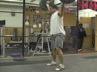 Snatch and Snatch High-Pulls: Lots  of misses!