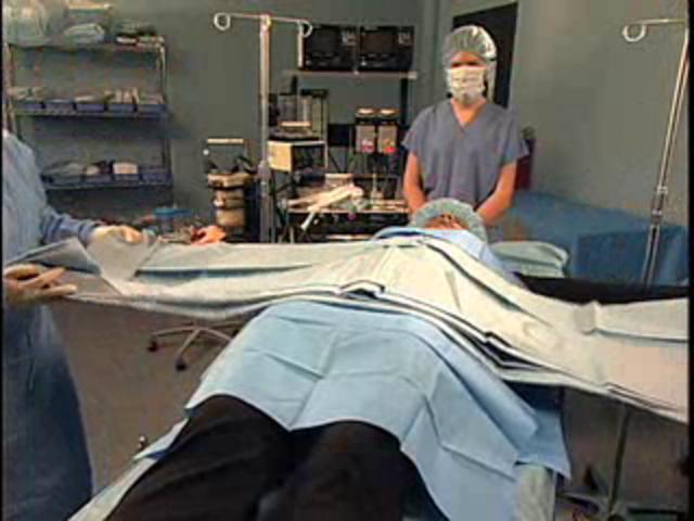 Laparotomy Drape