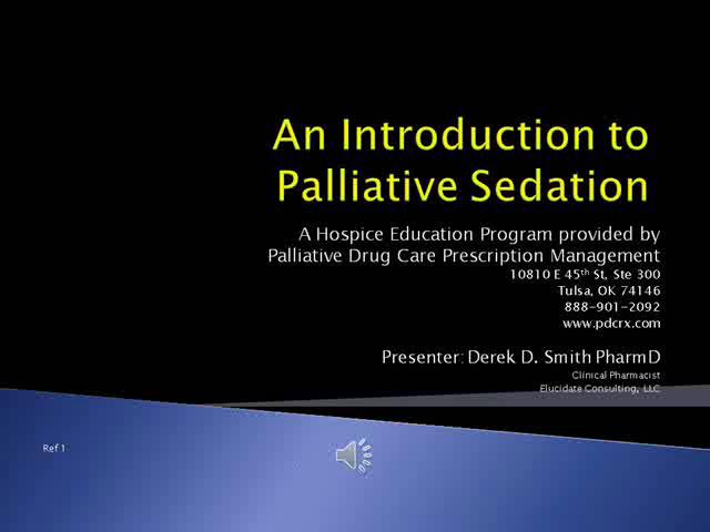 euthanasia vs palliative sedation essay Ethics - palliative care - stealth euthanasia not all patients who receive opioids or who opt for palliative sedation are, in fact.