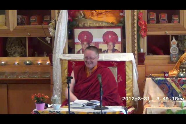 Khenmo Trinlay Chodron - Day 2, 1 of 2asf