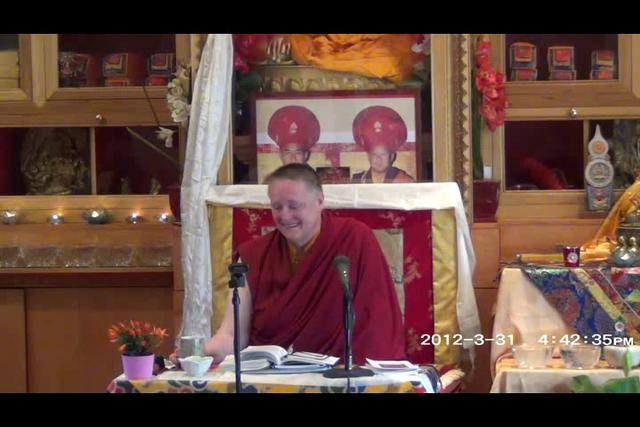 Khenmo Trinlay Chodron - Day 2, 2 of 2asf