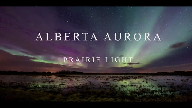 Alberta Aurora - Prairie Light