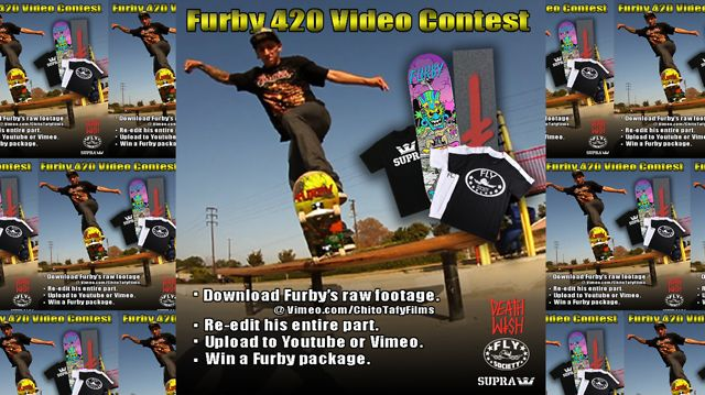 Furby 420 Video Contest