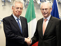 Meeting with  the Prime Minister of Italy, Mario MONTI