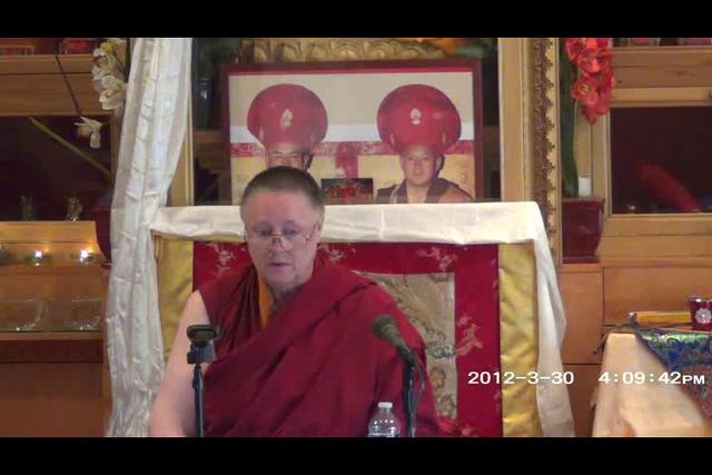 Khenmo Trinlay Chodron - Day 1, 1 of 2wma