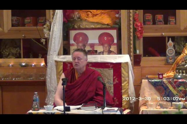 Khenmo Trinlay Chodron - Day 1, 2 of 2wma