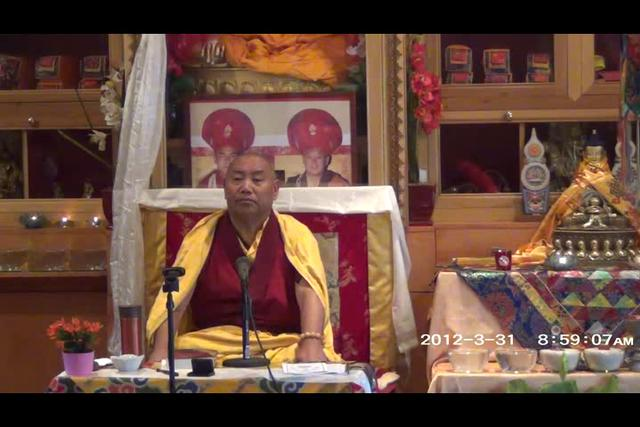 Khenchen Rinpoche - Day 2, 1 of 4wma