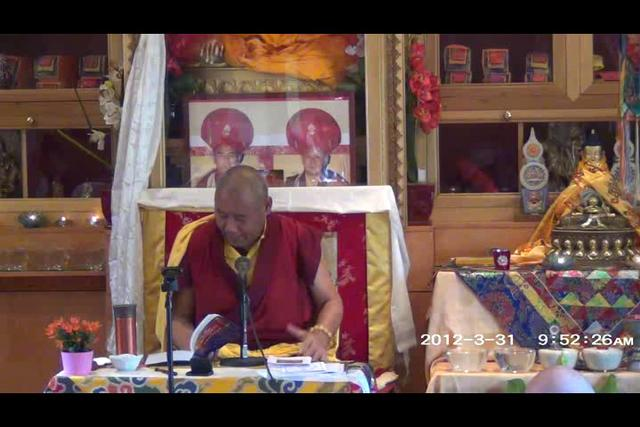 Khenchen Rinpoche - Day 2, 2 of 4wma