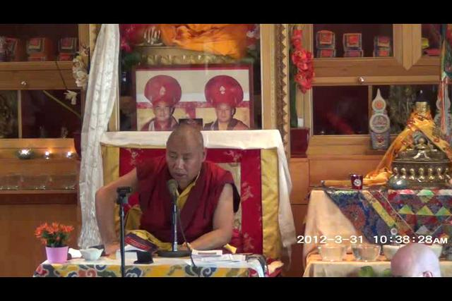 Khenchen Rinpoche - Day 2, 3 of 4wma