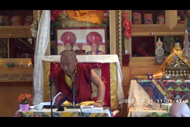 Khenchen Rinpoche - Day 2, 4 of 4wma